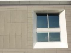 particolare facciata uffici