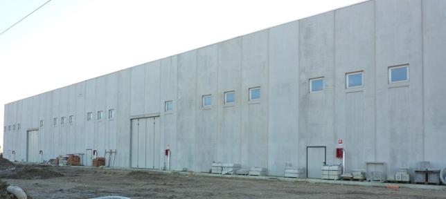 facciata capannone